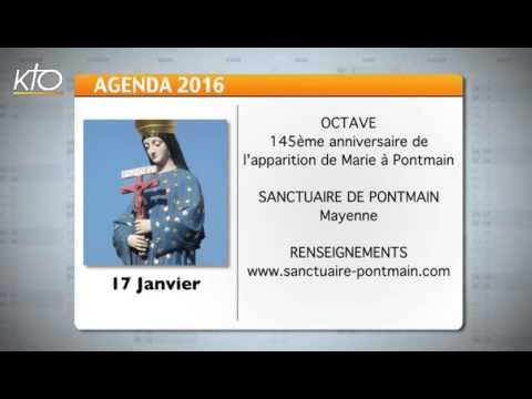 Agenda du 15 janvier 2016