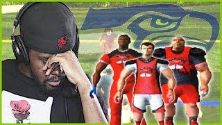THE COMPUTER MADE A FOOL OF ME!!   NFL Street Walkthrough Part 25