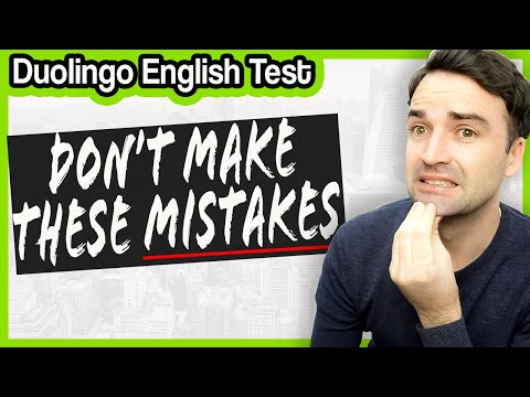 These 7 Mistakes Are Costing You Points! Duolingo English Test ...