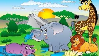 Мультик Про Зоопарк (часть 1) ♦ Обучающий Мультик Для Детей ♦ #мультик