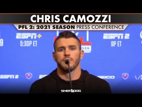 Chris Camozzi | PFL 2: 2021 Season - Press Conference
