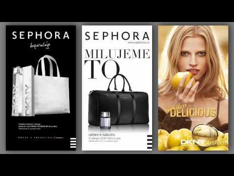 3 vertikální reklamy Estée Lauder pro DLD displeje