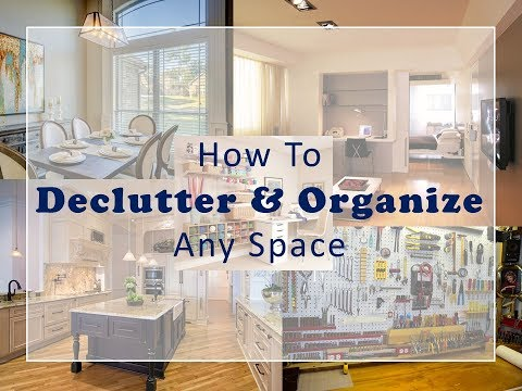 How to Declutter and Organize Any Space Online Course - YouTube