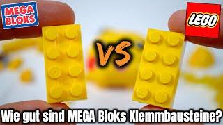 Analyse: Wie ist die Qualität von MEGA Bloks /Construx? | Vergleich mit LEGO Steinen & Klemm- Test