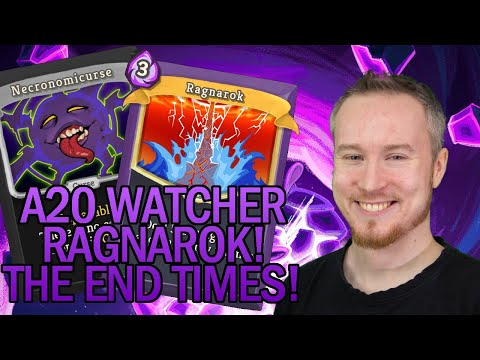 The End of the World: RAGNAROK! | Ascension 20 Watcher Run | Slay the Spire