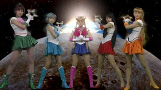 Sailor Moon Live Action Attacks 60fps