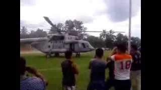 preview picture of video 'Helicoptero de la marina en Misantla, ver Martes 24 de Septiembre del 2013'