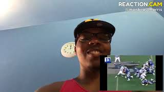 My Reaction To Barry Sanders Highlights This Man Is A Beast🔥