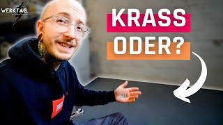 SCHNELL und EINFACH: DAS ist mein neuer WERKSTATTBODEN! | 11.03.21 | #WERKTAG. mit Jonas Winkler