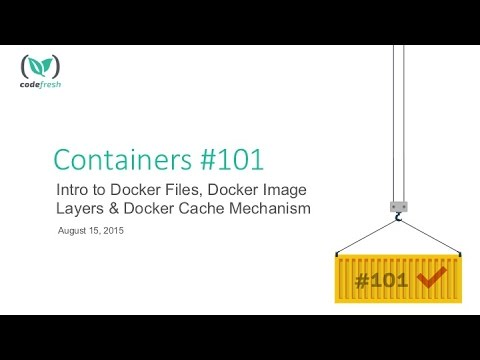 Intro to Docker Files, Docker Image Layers, and Docker Cache