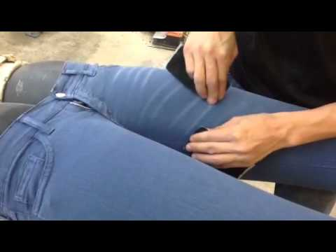 Zumo Jeans handmade production Italy Pt3