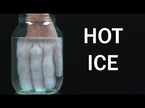 Evde Sıcak Buz Yapımı
