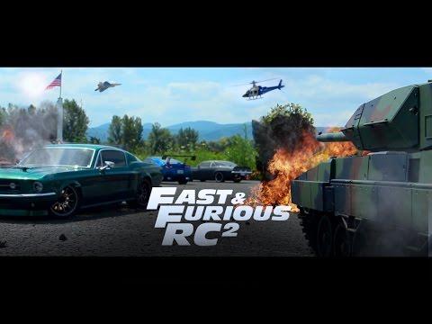 Fast & Furious RC: Cuộc rượt đuổi gay cấn tưởng nhớ Paul Walker