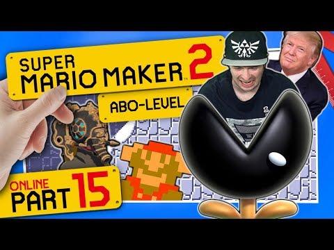 Zelda BOTW Vah Ruta, Trump Tower & böse Ice Muncher Jump Cave 👷 SUPER MARIO MAKER 2 ONLINE #15