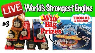 Thomas & Friends World's Strongest Engine LIVE - #3 With PRIZES! Toy Fun!