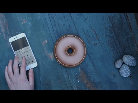 Video about the Hoop Bluetooth Speaker
