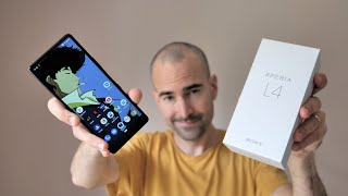 Sony Xperia L4 - Unboxing & Tour