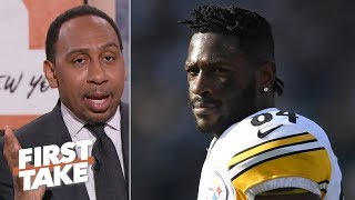 Antonio Brown's reputation is 'dissipating and diminishing' - Stephen A. | First Take