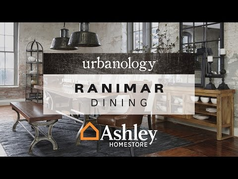 Rustic Brown Ranimar Dining Room Table View 4 Video