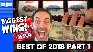 💰BIGGEST WINS of 2018 💰All wins $800++ 📆 (Part 1 of 2) ✦ BCSlots