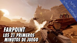 Farpoint - Los 21 primeros minutos de juego