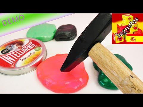 Golpeemos la Plastilina Inteligente con un martillo | Demo