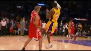 Shane Battier's Great Defense on Kobe and Game Winner (2007)
