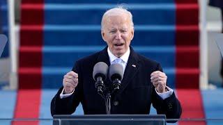 End this uncivil war, Joe Biden urges America
