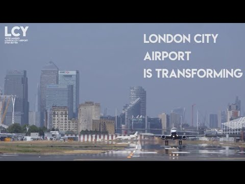 London City Airport expansion: building a deck over King George V Dock
