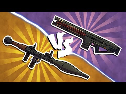 RPG VS RAILGUN!
