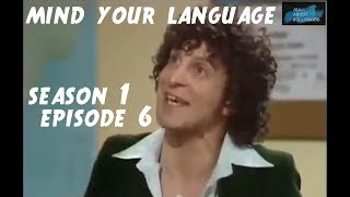 Hillarious comedy Mind your language 1 Video