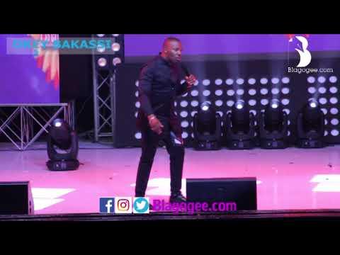 Okey Bakassi, Salvado Cracks Audience At 2018 Easter Comedy Show