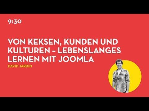 JD19DE - Von Keksen, Kunden und Kulturen – lebenslanges Lernen mit Joomla