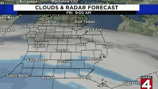 Snow expected in SE Michigan on April 17, 2020