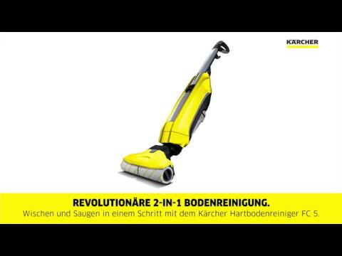 Kärcher Hartbodenreiniger FC 5 Anwendung/Setup/Reinigung