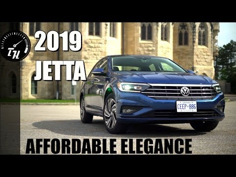 The 2019 Volkswagen Jetta, Is A Very Easy Way To Feel Fancy. // Review