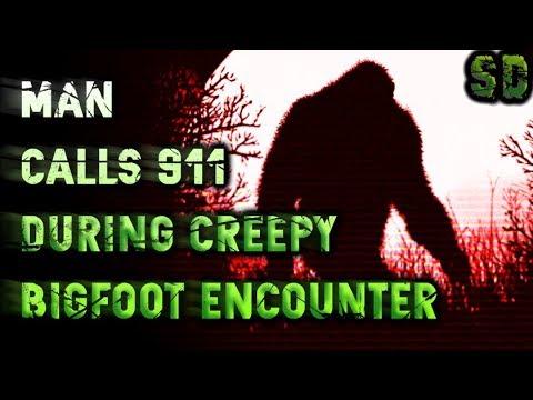 Man Makes 911 Bigfoot Call (Video)