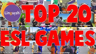 TOP 20 ESL Games To Get Your Students Talking! - Linguish