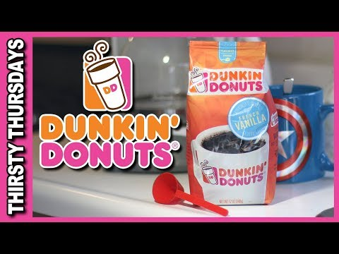 Dunkin Donuts ☕️  French Vanilla Home Brew ☕️  Thirsty Thursdays