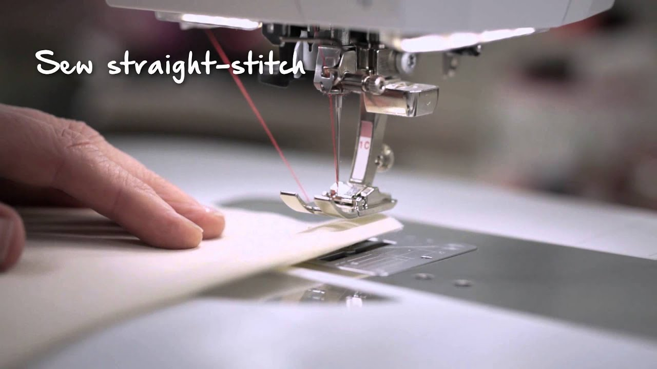 BERNINA 790 PLUS: First steps