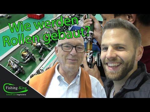 Wie werden Angelrollen gebaut? Live Einblicke in die chinesische Produktion | Fishing-King.de