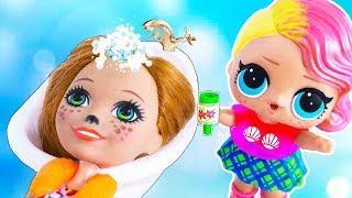 САЛОН КРАСОТЫ ДЛЯ МАМЫ! Мультик #ЛОЛ СЮРПРИЗ Школа Куклы Игрушки Для девочек