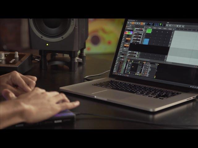 Control Bitwig Studio with BLOCKS