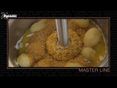 MASTER - Dynamic Serie Master - Mixer, Fruste e Combinati fino a 100 coperti