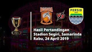 Hasil Akhir Piala Indonesia, Borneo FC Tumbangkan Persib Bandung di Menit-menit Akhir