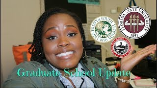 Accepted { Rejected } Waitlisted | Grad School Vlog