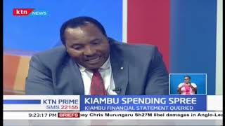 Governor Waititu explains 'bizarre' Kiambu County funds allocation, blames political opponents