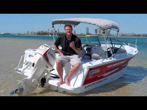 Boat Reviews on the Broadwater – 2016 Quintrex 490 Cruiseabout