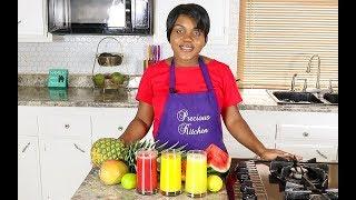 3 Healthy Juice Recipes - Precious Kitchen