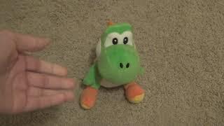 Sanei/Little Buddy 2012 YOSHI PLUSH REVIEW - Mario Plush Reviews